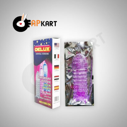 Delux Crystal Condom Mens Sex Toy - Adults Product Kart