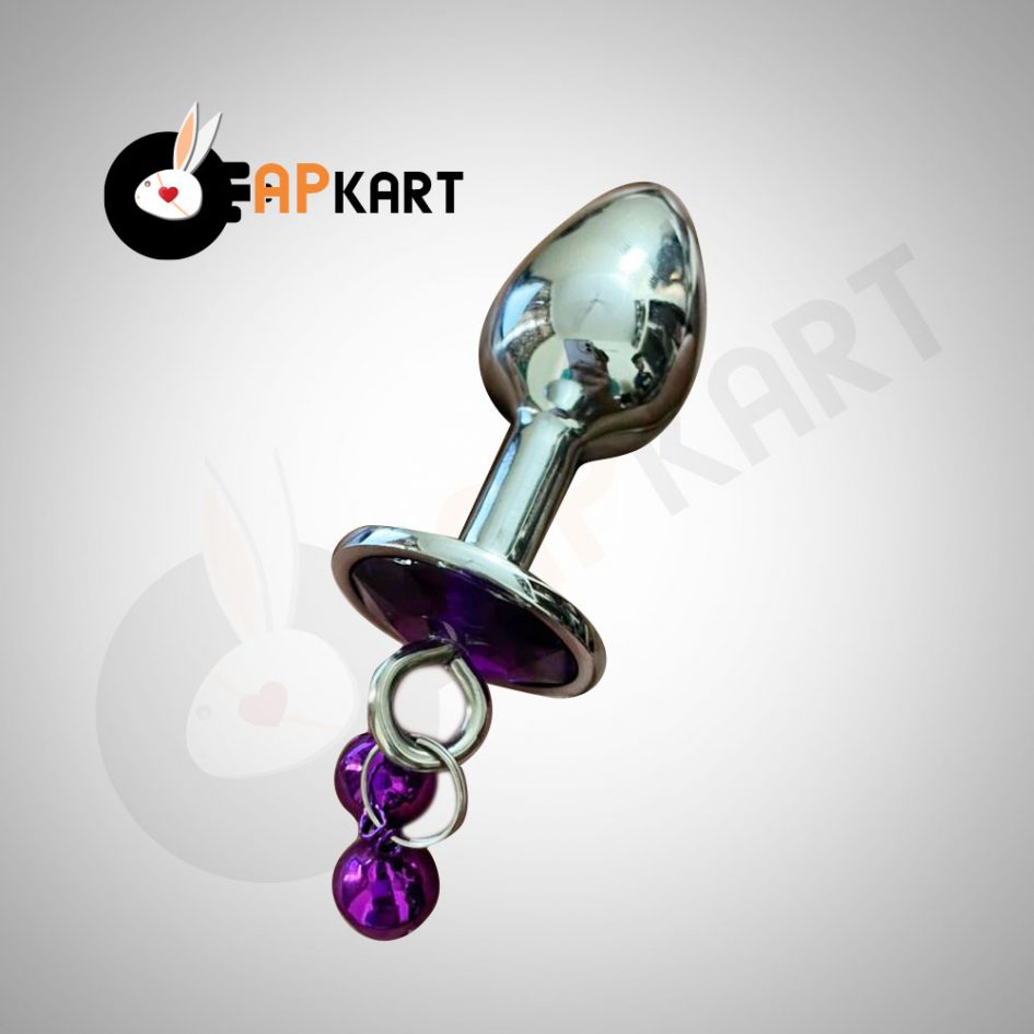 Metal Anal Butt Plugs, Jewelry Anal Toys with Bell - Adults Product Kart