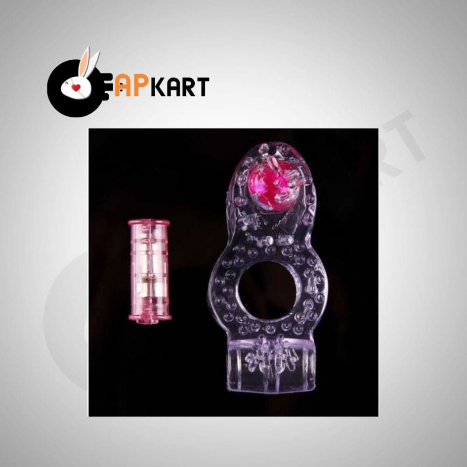 Dual Vibrating Cock Ring Butterfly Ring Men's Sex Toys - Adults Product Kart