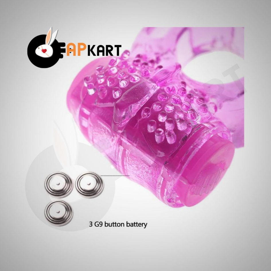 Silicone Delay Vibrating Cock Ring Men's Sex Toy - Adults Product Kart