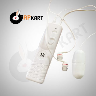 White Nights Controller Bullet Vibrator Sex Toy- Adults Product Kart