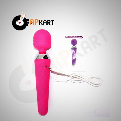 Rechargeable-Wand-Massager-With-10-Vibration-Modes---Adults-Product-Kart-0