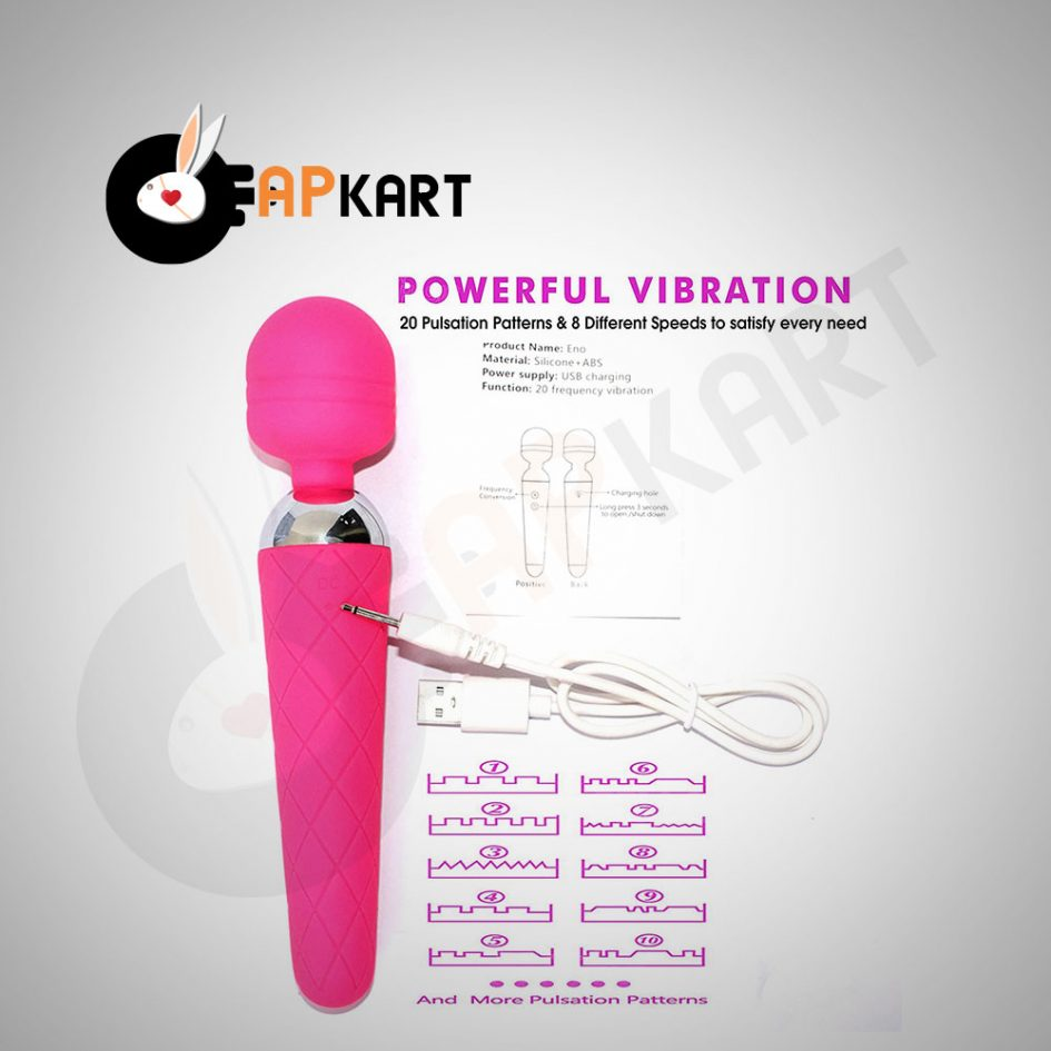 Rechargeable-Wand-Massager-With-10-Vibration-Modes---Adults-Product-Kart-2