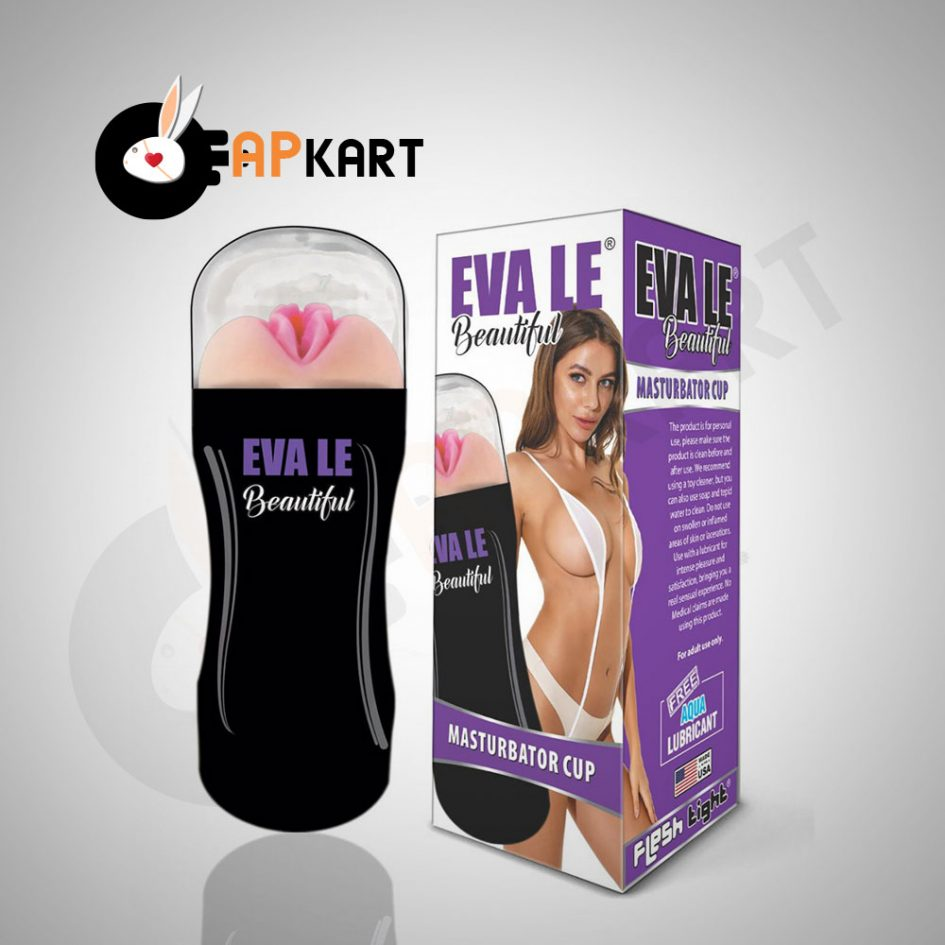 Eva Le Pussy Masturbation Cup For Men - Adults Product Kart - Adults Product Kart