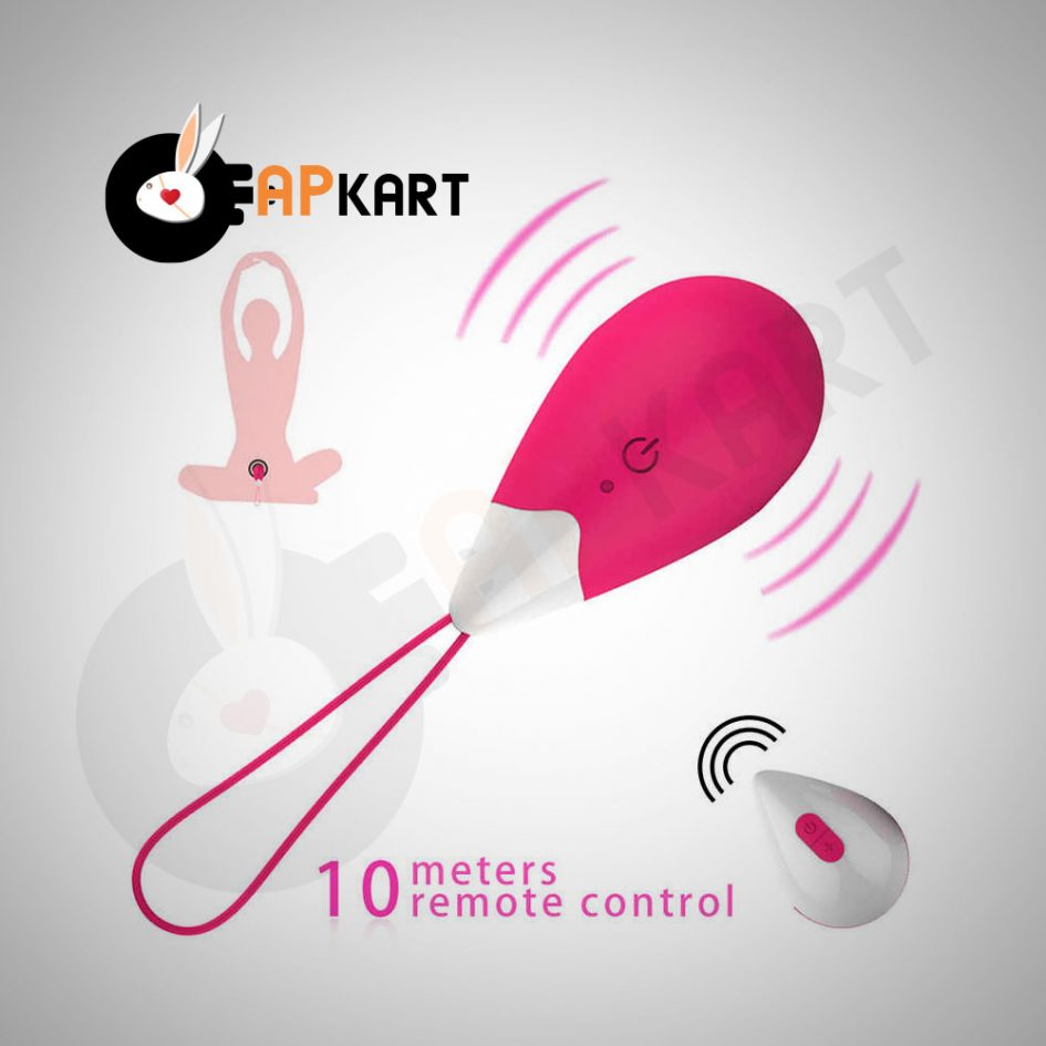 Wireless Love Egg Bullet Sex Toy Vibrator With Remote Control - Adults Product Kart 1