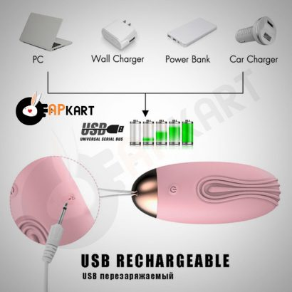 10 Speed Wireless Remote Control Bullet Egg Vibrator-2