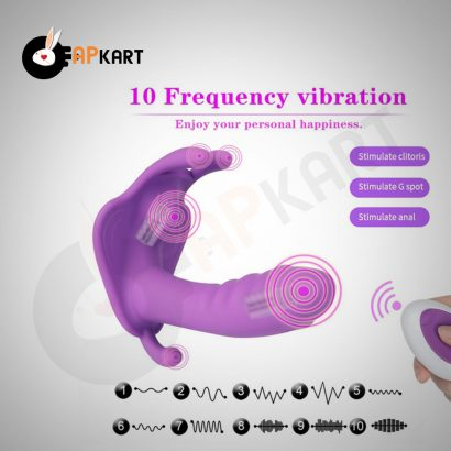 Vibrating 10 Frequency Vibrator Waterproof Massager Sex Toys-3